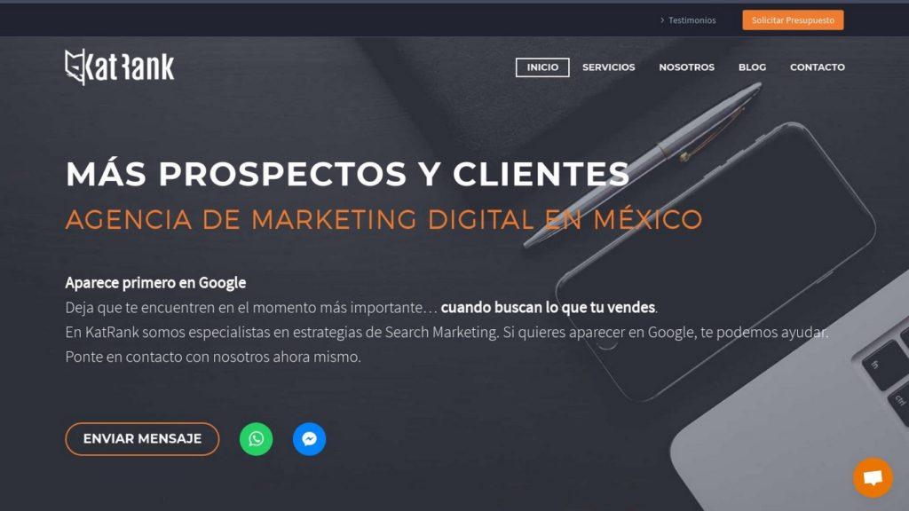 las mejores agencias SEO de México-katrank