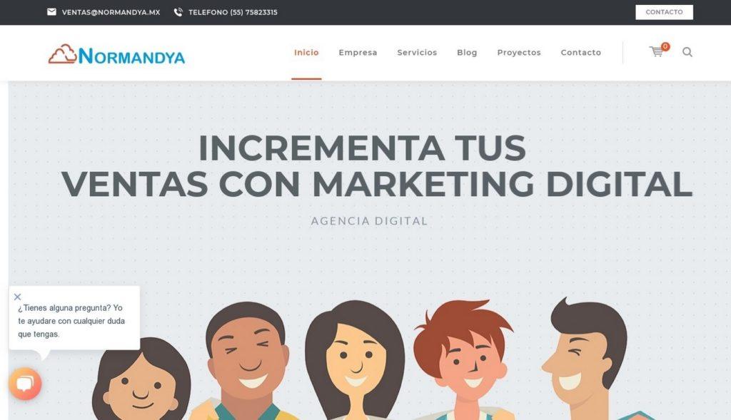 las mejores agencias SEO de México-normandya
