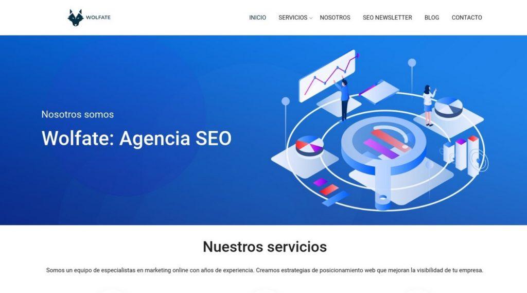 las mejores agencias SEO de México-wolfate