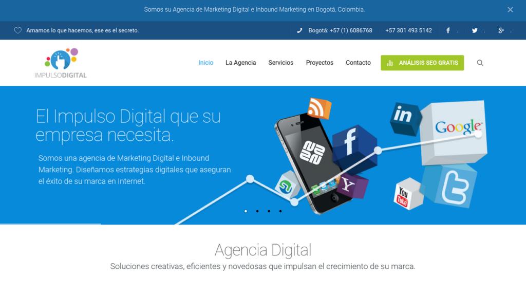 las mejores agencias SEO de Colombia-Impulso Digital