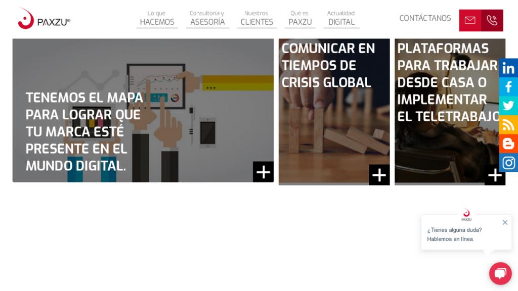 las mejores agencias SEO de Colombia-Paxzu