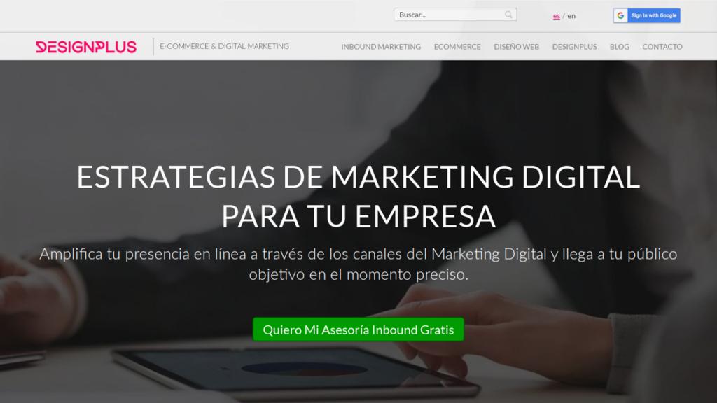 las mejores agencias SEO de Colombia-designplus