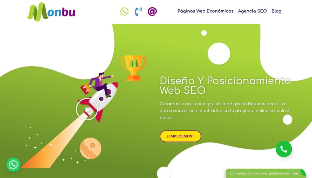 las mejores agencias SEO de Colombia-monbu