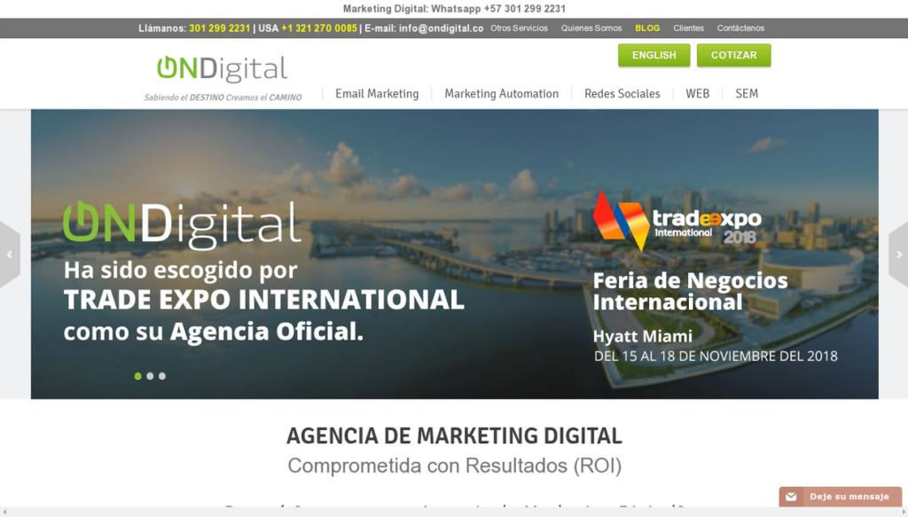 las mejores agencias SEO de Colombia-ondigital