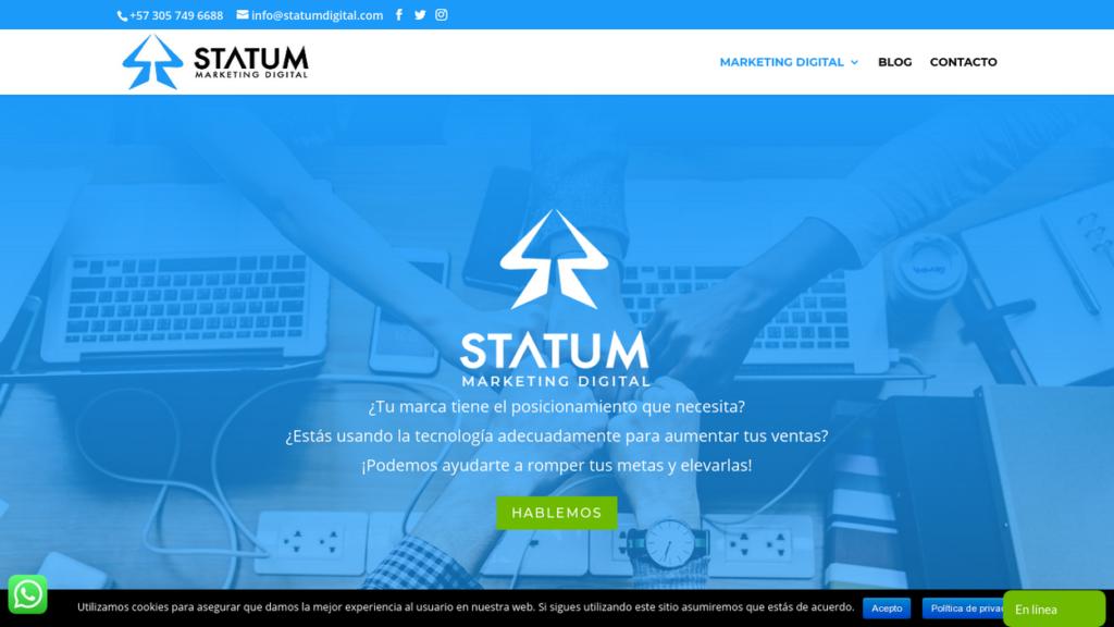 las mejores agencias SEO de Colombia-statumdigital