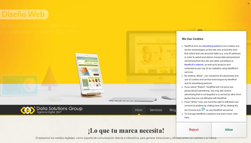 las mejores agencias de diseño web de Colombia-Data Solutions Group