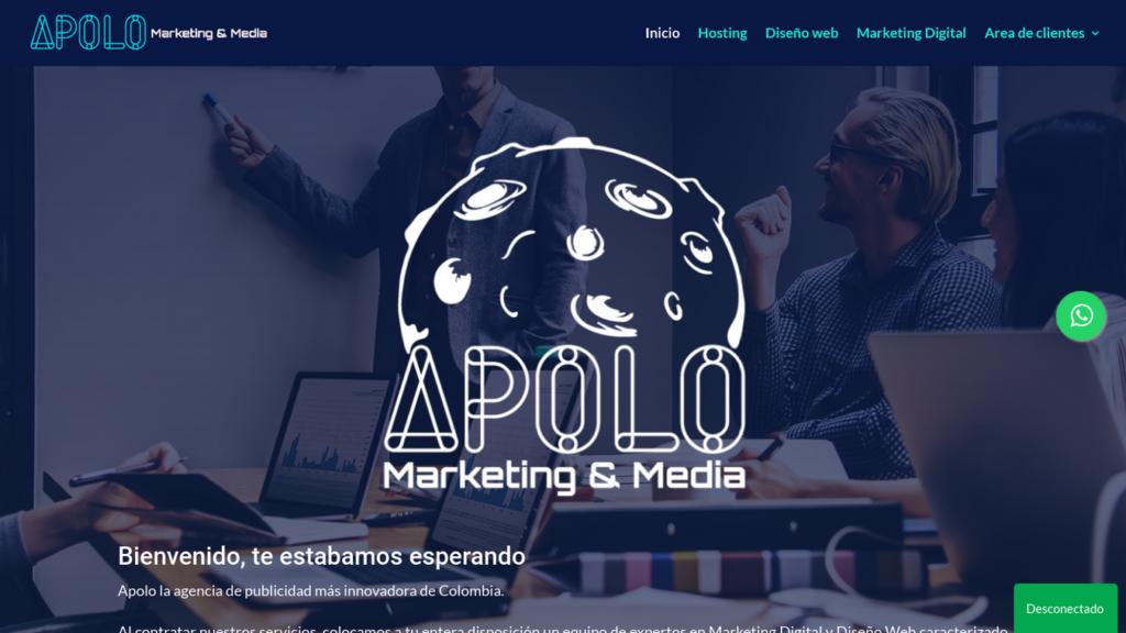 las mejores agencias de diseño web de Colombia-apolomarketing