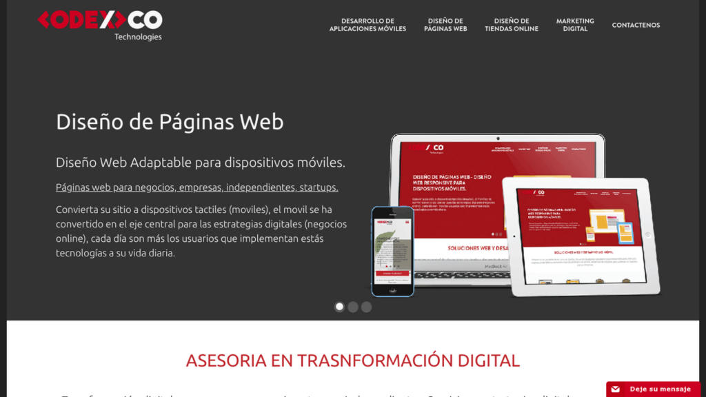 las mejores agencias de diseño web de Colombia-codexco