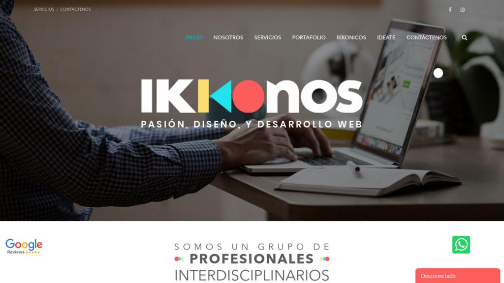 las mejores agencias de diseño web de Colombia-ikkonos