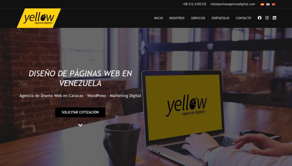 las mejores agencias de diseño web de Colombia-yellowagenciadigital