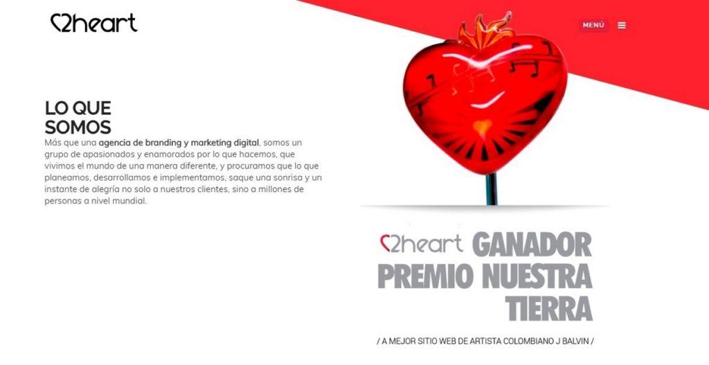 las mejores agencias de marketing online de Colombia-2Heart