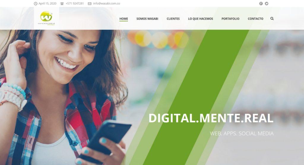 las mejores agencias de marketing online de Colombia-Wasabi Digital