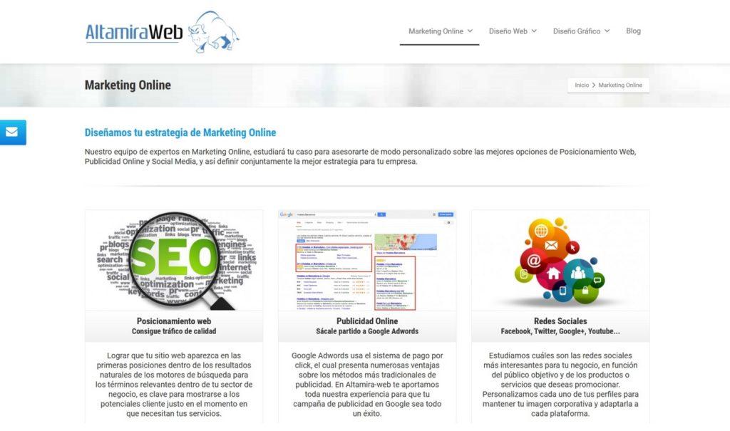 las mejores agencias de marketing online de Colombia-altamiraweb