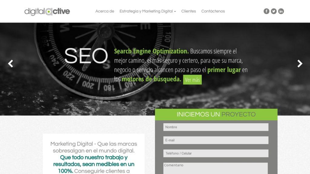 las mejores agencias de marketing online de Colombia-digitalactive