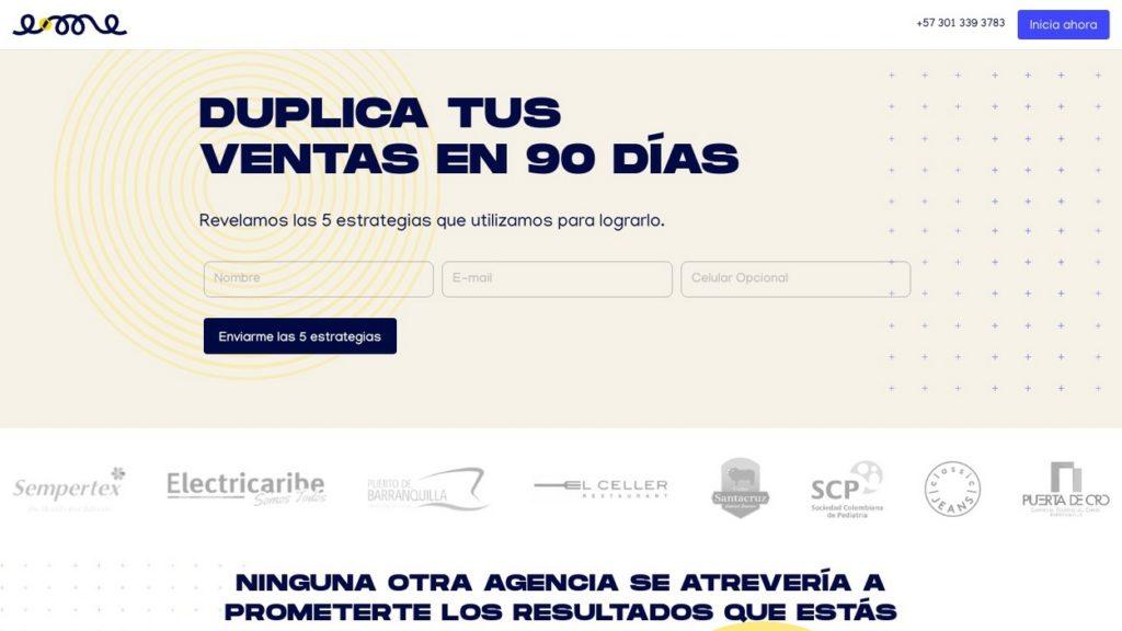 las mejores agencias de marketing online de Colombia-e-me