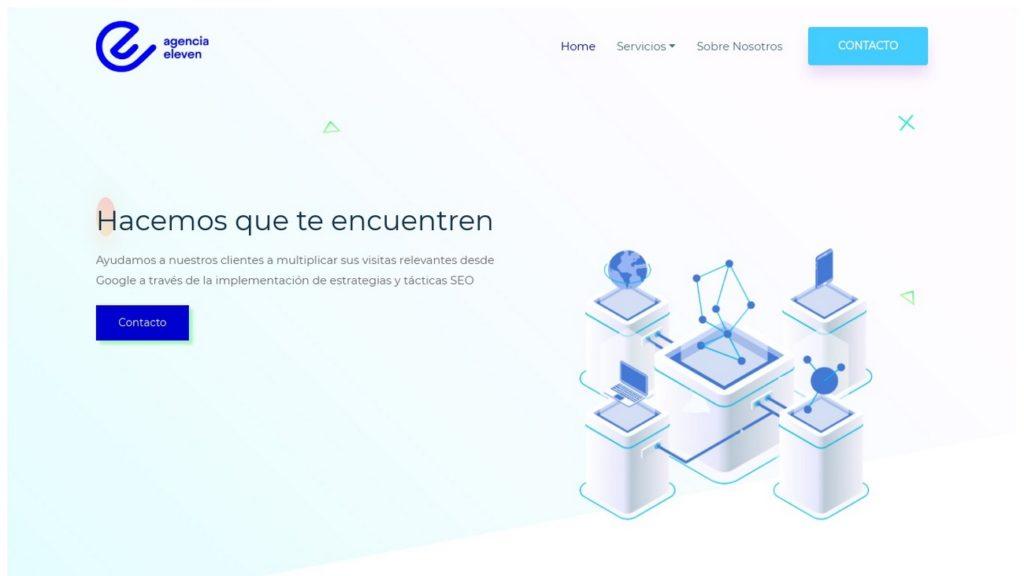 mejores agencias de posicionamiento SEO en Argentina-Agencia Eleven