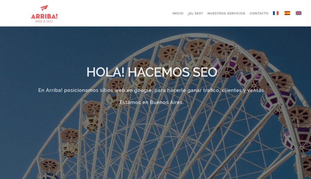 mejores agencias de posicionamiento SEO en Argentina-arribaweb