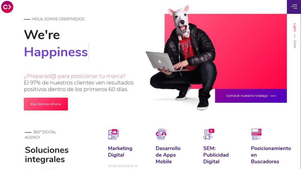 mejores agencias de posicionamiento SEO en Argentina-creativedog