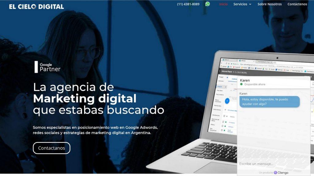 mejores agencias de posicionamiento SEO en Argentina-elcielodigital