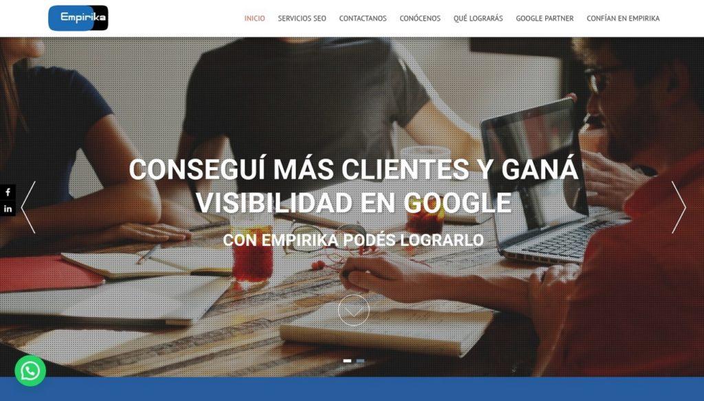 mejores agencias de posicionamiento SEO en Argentina-empirika