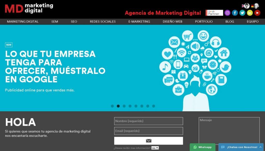 mejores agencias de posicionamiento SEO en Argentina-mdmarketingdigital