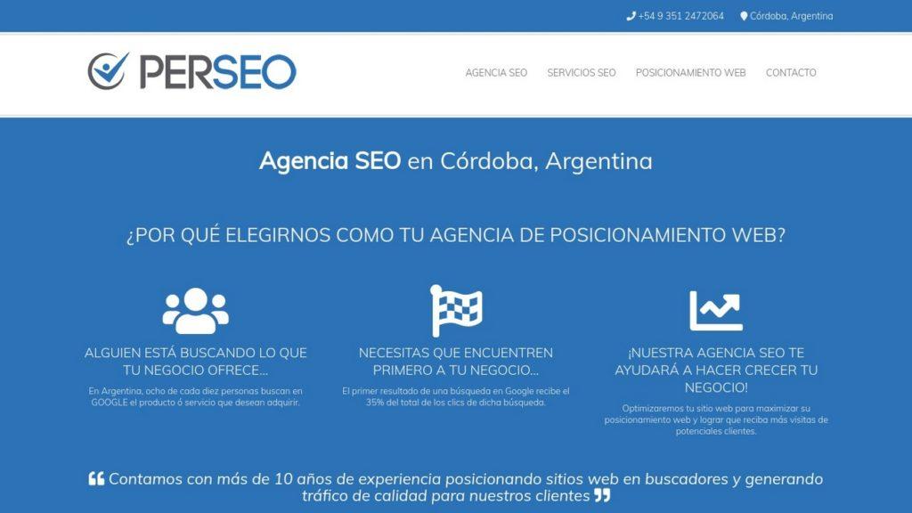 mejores agencias de posicionamiento SEO en Argentina-perseo