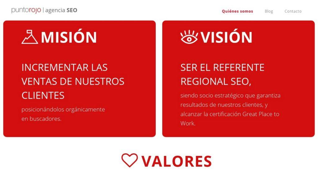 mejores agencias de posicionamiento SEO en Argentina-puntorojo