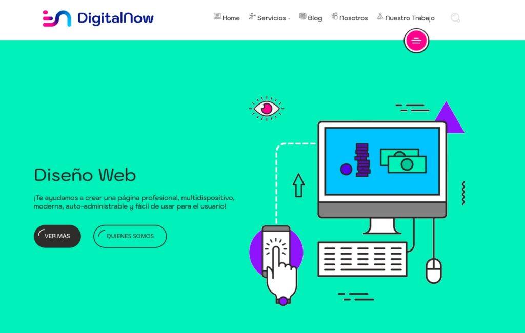 las mejores agencias de diseño web de Argentina-Digital Now