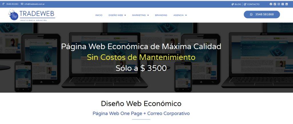 las mejores agencias de diseño web de Argentina-Tradeweb