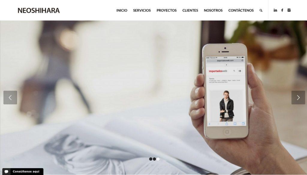 las mejores agencias de diseño web de Argentina-Neoshihara