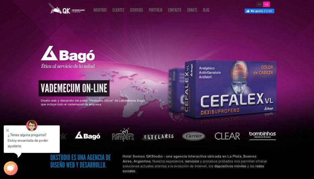 las mejores agencias de diseño web de Argentina-QKStudio