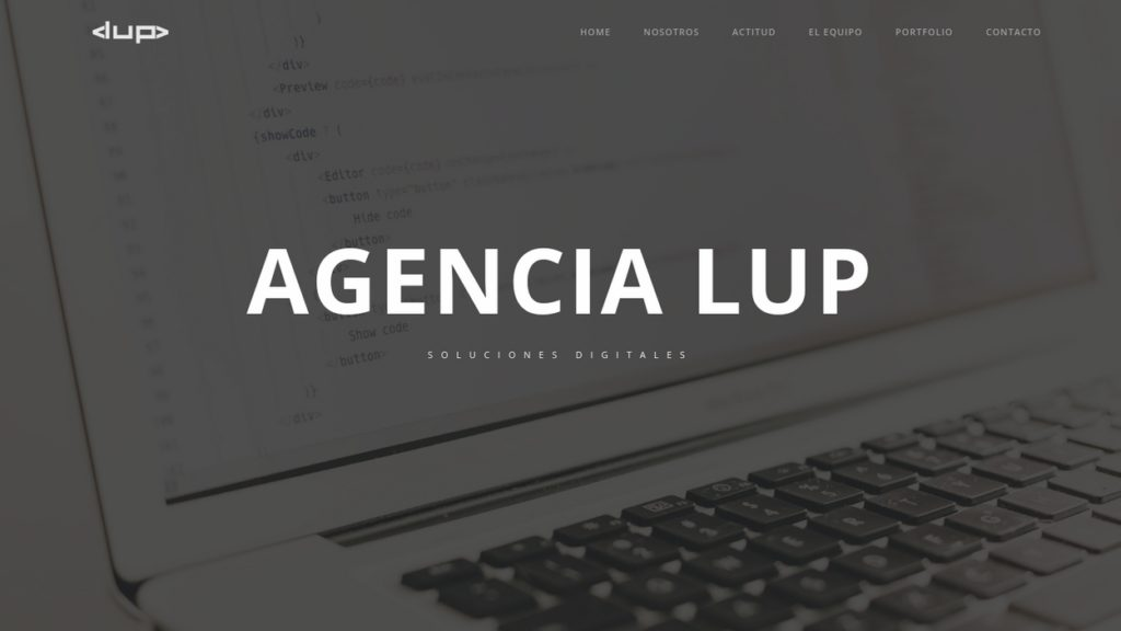 las mejores agencias de diseño web de Argentina-agencialup