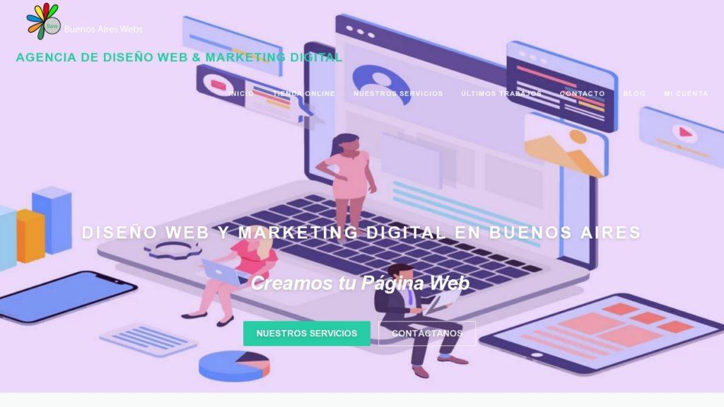 las mejores agencias de diseño web de Argentina-buenosaireswebs