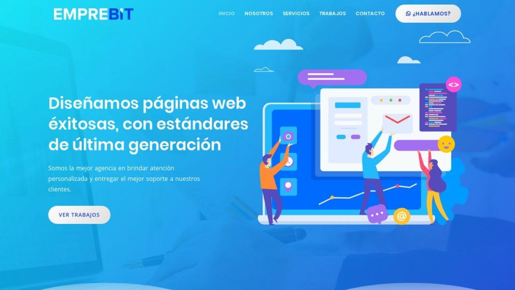 las mejores agencias de diseño web de Argentina-emprebit