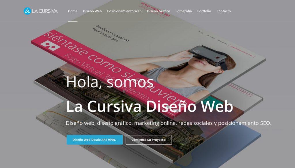 las mejores agencias de diseño web de Argentina-lacursiva