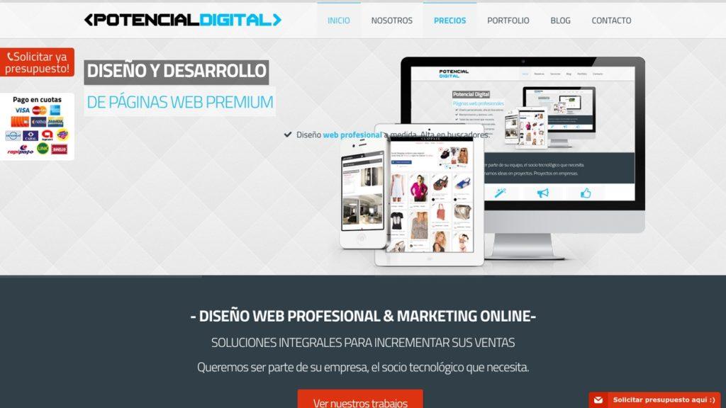las mejores agencias de diseño web de Argentina-potencialdigital