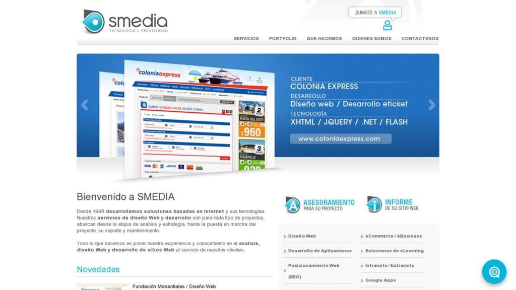 las mejores agencias de diseño web de Argentina-smedia