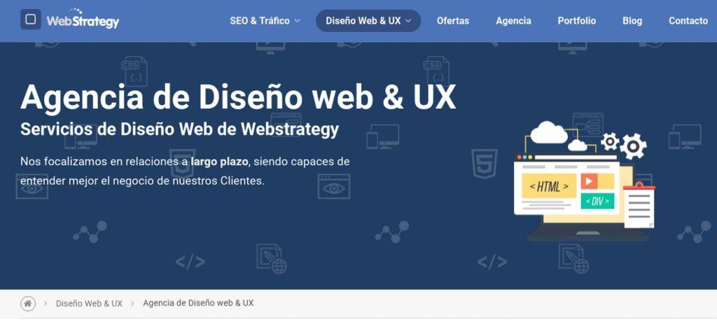 las mejores agencias de diseño web de Argentina-webstrategy