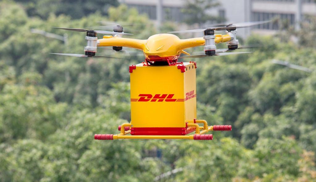 gestión de la última milla drones
