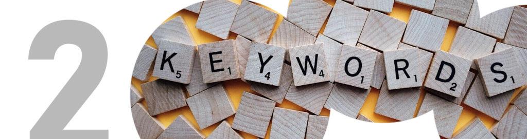 SEO en artículo de blog keywords