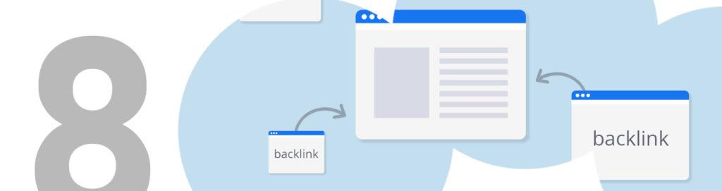 SEO en artículo de blog backlinks