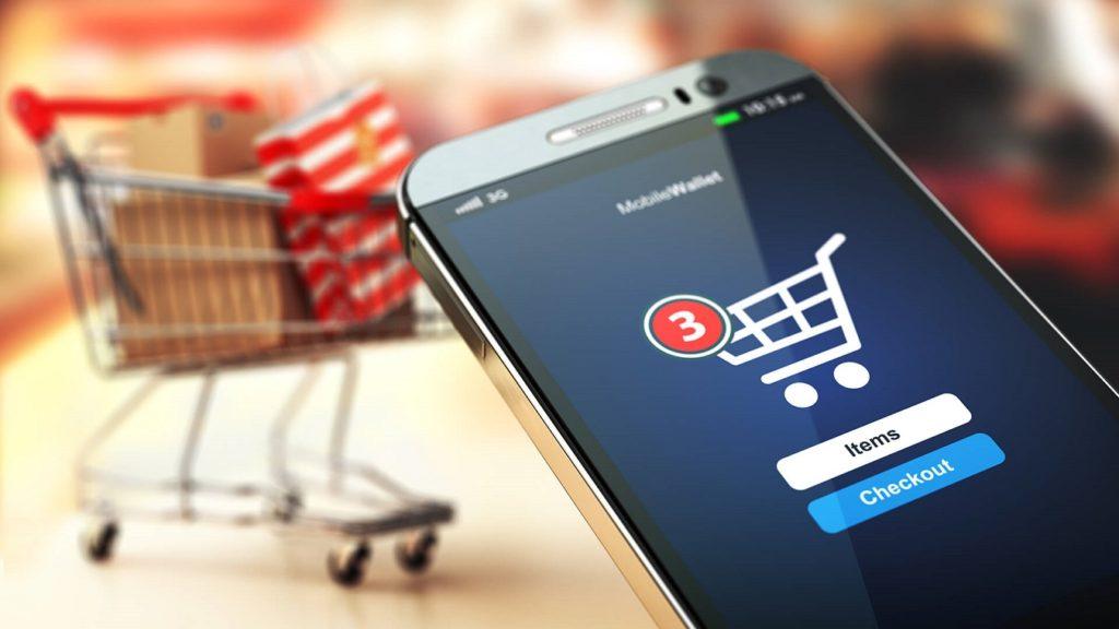 checkout de tienda online movil