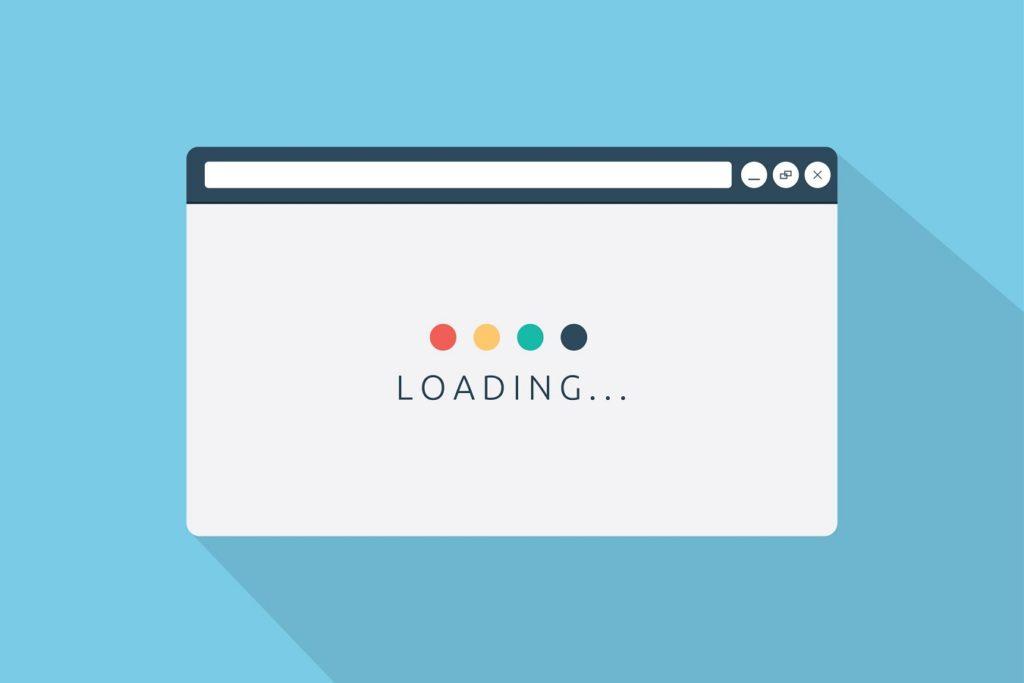 checkout de tienda online velocidad de carga