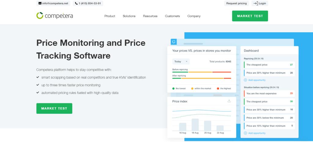 monitorizar precios de competencia-Competera