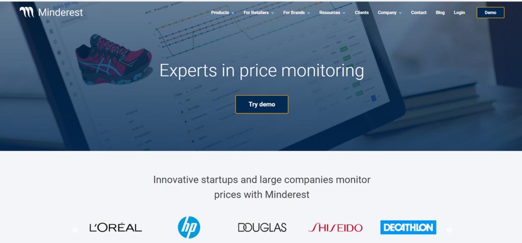 monitorizar precios de competencia-Minderest
