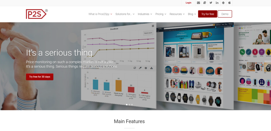 monitorizar precios de competencia-Price2Spy