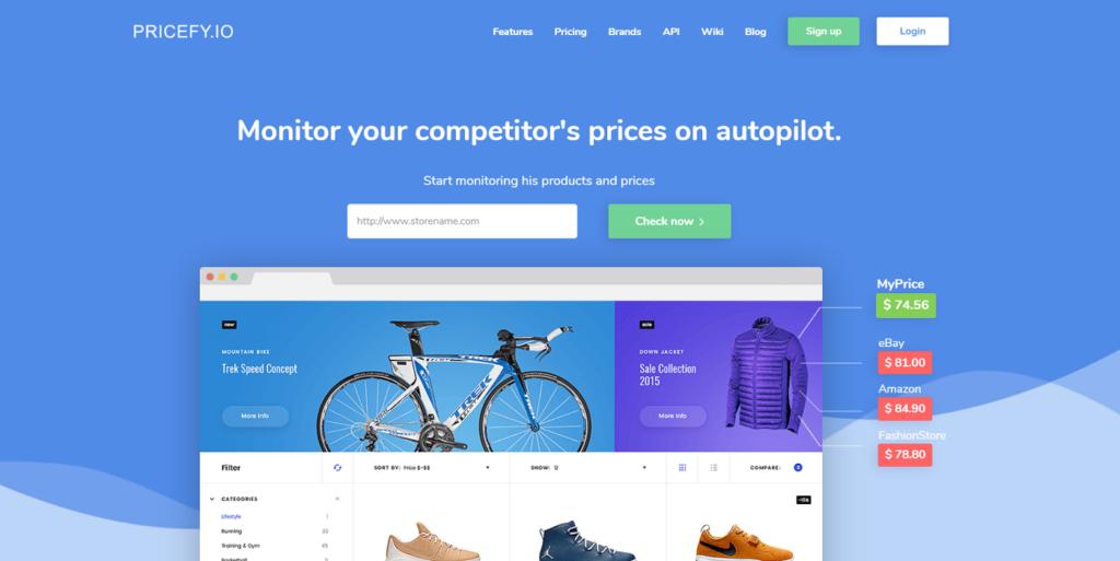 monitorizar precios de competencia-Pricefy.io