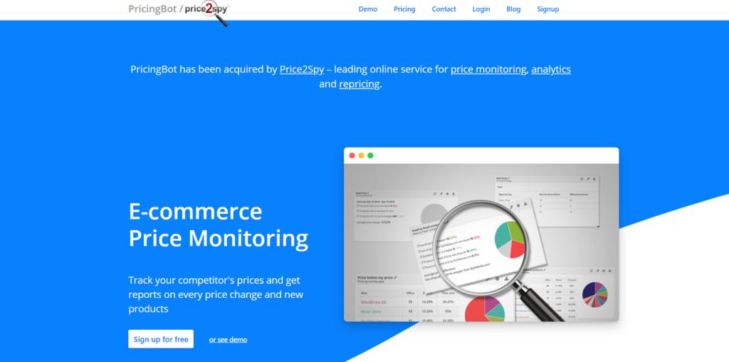 monitorizar precios de competencia-PricingBot