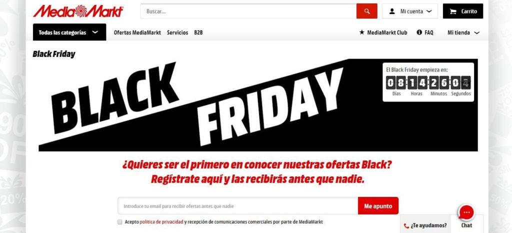 mejores campañas de Black Friday-mediamarkt