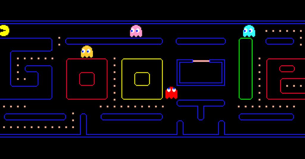 curiosidades y trucos de Google pacman